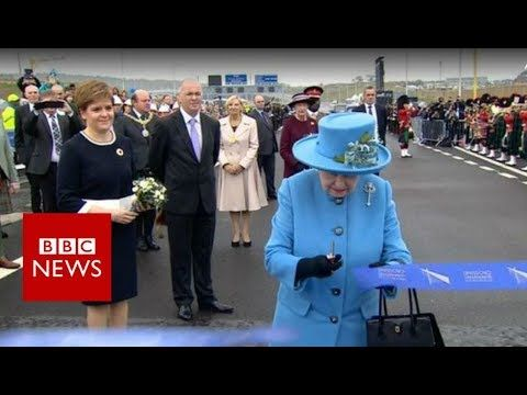 Queensferry Crossing official opening ceremony - BBC News - YouTube