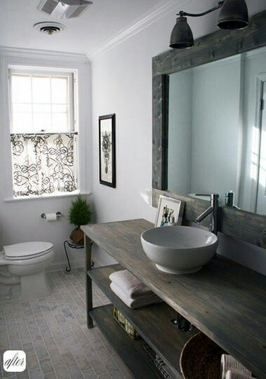 Fresh and Modern! Call me to make this your bathroom!! I can get you the loans to make this a reality! (909) 786-6763