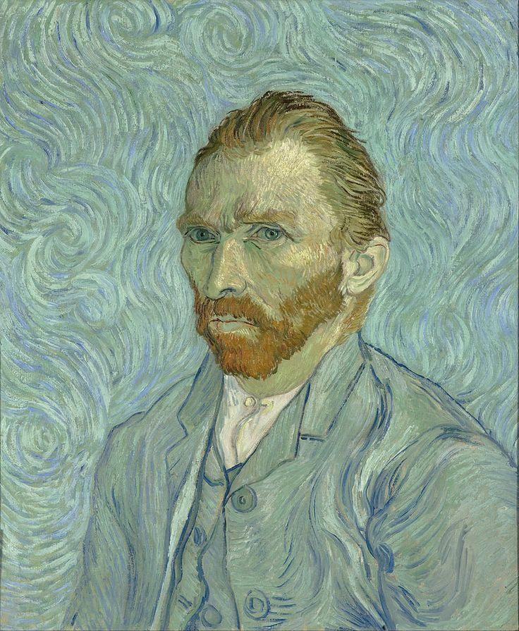 Self-Portrait, September 1889 Oil on canvas, 65 × 54 cm Musée d'Orsay, Paris. This may have been Van Gogh's last self-portrait.