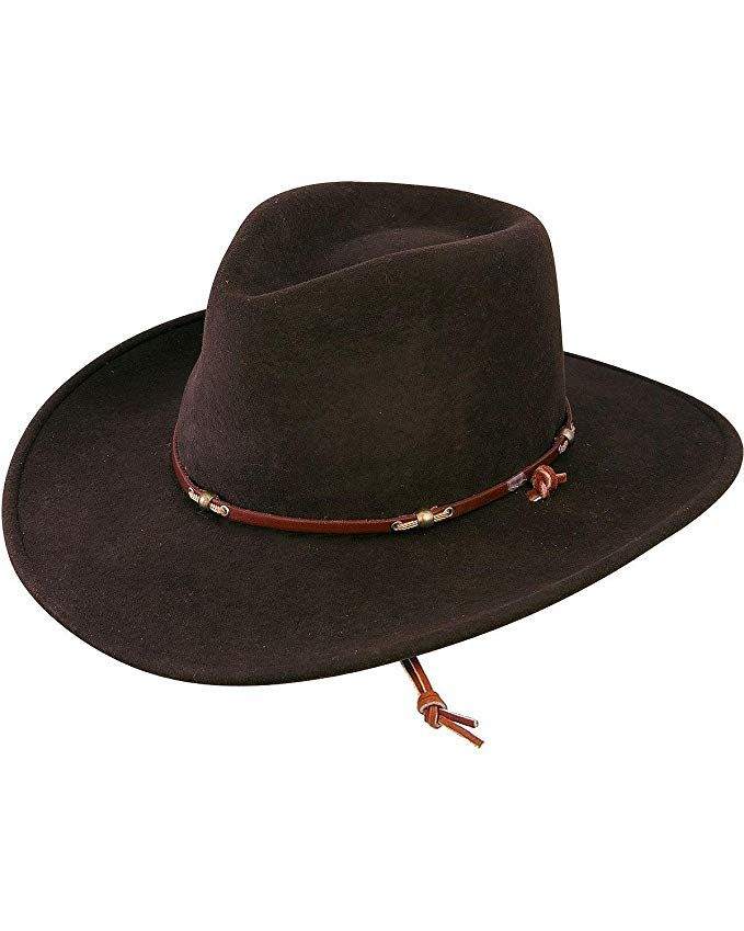 a535acc782e82 Stetson Men s Cordova Wildwood Crushable Hat Cordovan Medium Review ...