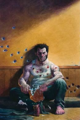 I was reading that....  (Wolverine)