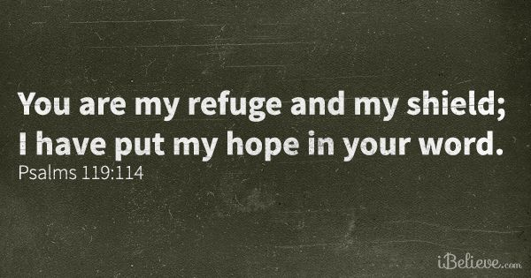 Lord, You're my place of quiet retreat; I wait for your #Word to #renew me. #Prayer #Psalm