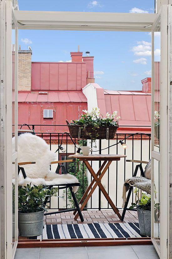 Mejores 23 im genes de terrazas con encanto en pinterest - Balcones pequenos con encanto ...