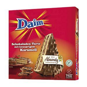 Daim Schokoladen-Torte mit knusprigem Karamell 400g
