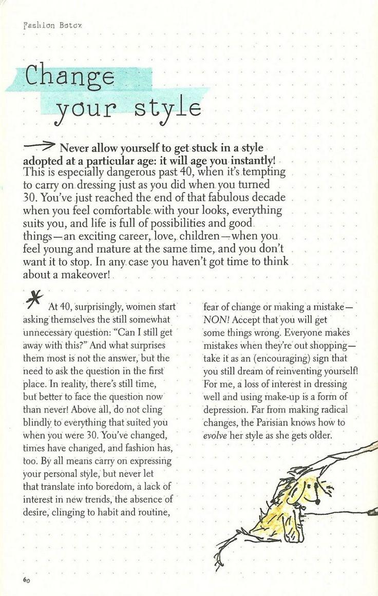 Parisian Chic: A Style Guide by Inès de la Fressange | Change Your Style