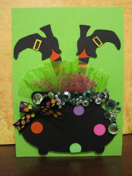 Funky Witch by 1crzystamper - Cards and Paper Crafts at Splitcoaststampers