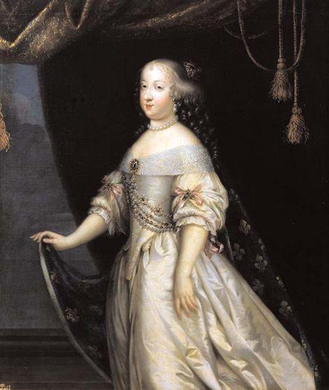 Marie-Thérèse d'Autriche, reine de France (1638-1683), par Henri et Charles Beaubrun, XVIIe siècle