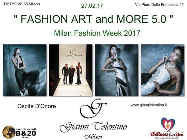 Per tutti gli stilisti che vogliono partecipare al FASHION ART and MORE 5 Edition in Milan Fashion Week,potranno contattarmi al 3387975351 oppure info@wellnessxyou.it  #giannitolentino #fashiondesigner #fashionartandmore5 #sabrinaspinelli #eventmanager