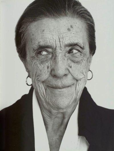 portrait: portrait of Louise Bourgeois