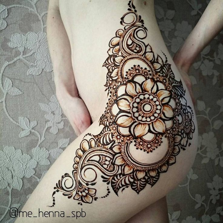 25 best ideas about henna thigh tattoo on pinterest thigh henna henna tattoos and facebook l. Black Bedroom Furniture Sets. Home Design Ideas