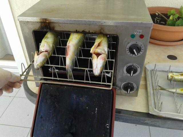 Φούρνος καπνίσματος helia smoker ψήνει και καπνίζει καπνιστά ψάρια καπνιστό σκουμπρί καπνιστός σολομός  Σπύρος Σκοπελίτης helia smoker 6936112276 http://www.smartkitchenshop.eu/component/virtuemart/fournoi/fournoi-heliasmoker/fournoikapnismatos-detail?Itemid=0