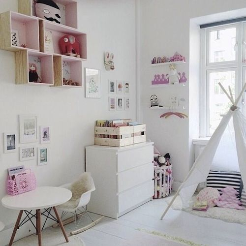 Ten Girls Rooms with a touch of pink