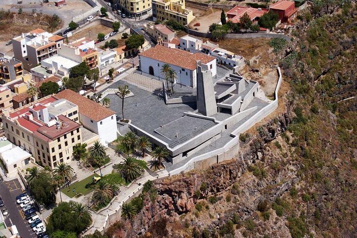Sacred Museum,Courtesy of Fernando Menis Architects