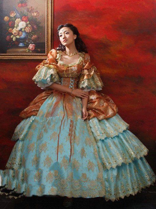 19 Century Vintage Victorian Dresses Lolita Civil War