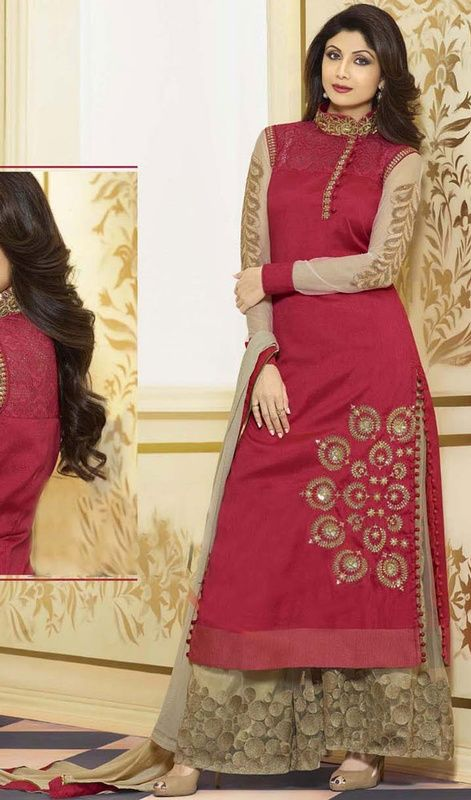 Eulogize your timeless elegance dressed in this Shilpa ...