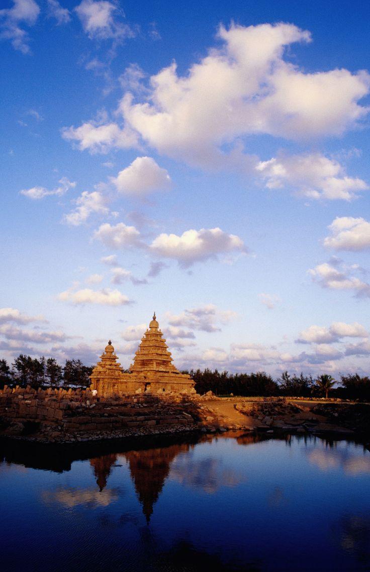 Shore Temple - Mamallapuram ( Mahabalipuram ), Tamil Nadu