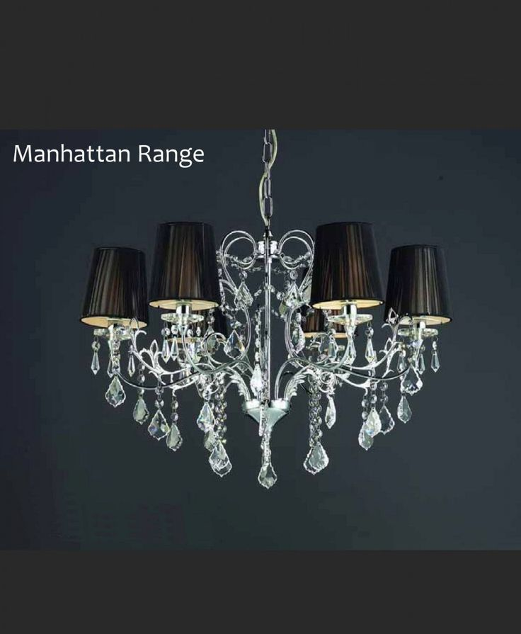 Manhattan 6 arm Chandelier - Designer Chandelier Australia Pty Ltd