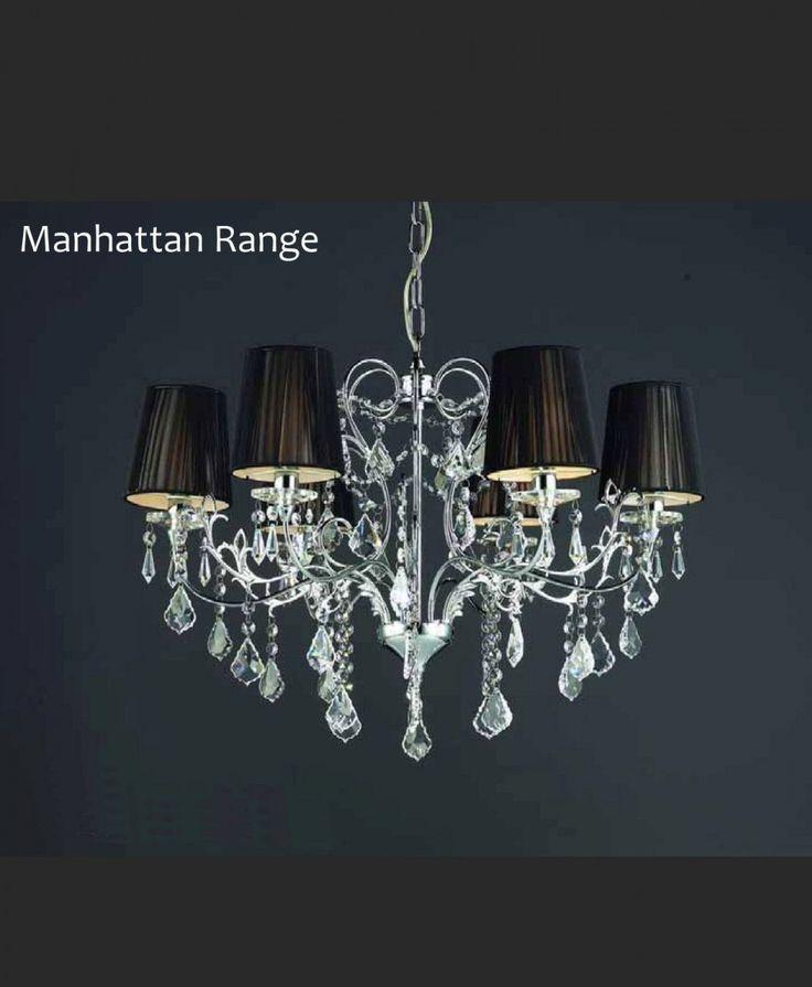Manhattan 6 arm Chandelier - Designer Chandelier Australia Pty Ltd