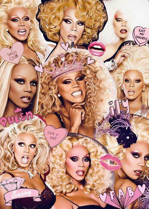 the queen of all drag queens. Rupaul