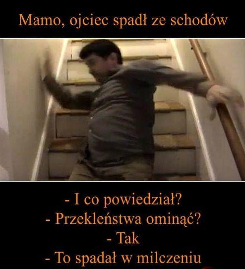 tata spadł ze schodów #humor #smieszne