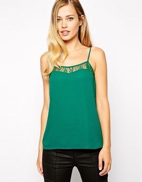Not a dress but very pretty - Oasis Lace Trim Cami
