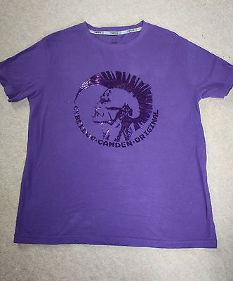 Camden Origionals tee in purple
