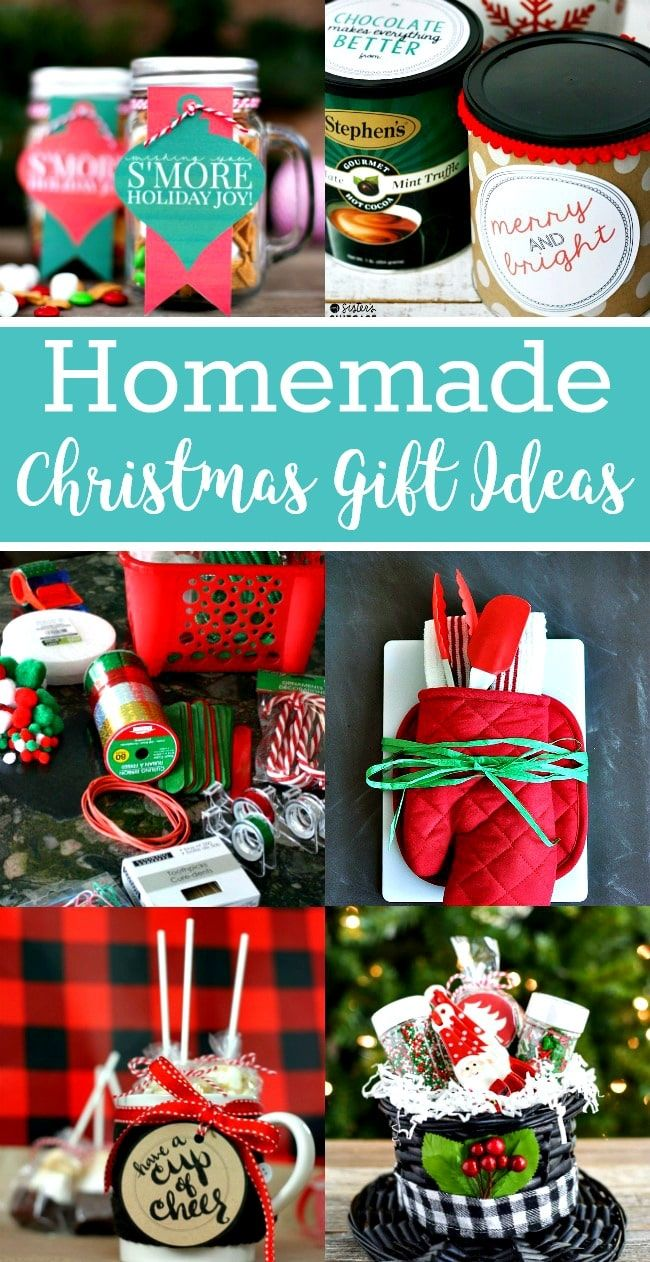 Easy Homemade Christmas Gift Ideas | Pinterest | Homemade christmas ...