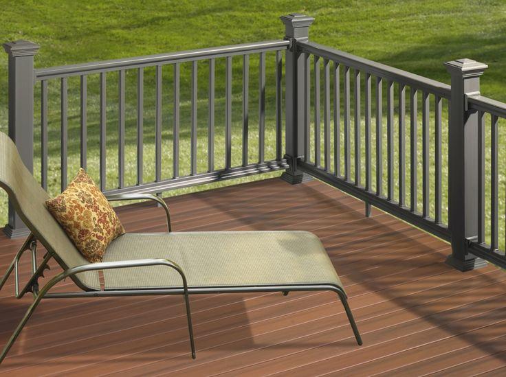 Vinyl Deck Handrail Systems