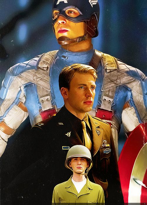 I like the middle Steve. Every girl likes a man in a vintage war uniform.