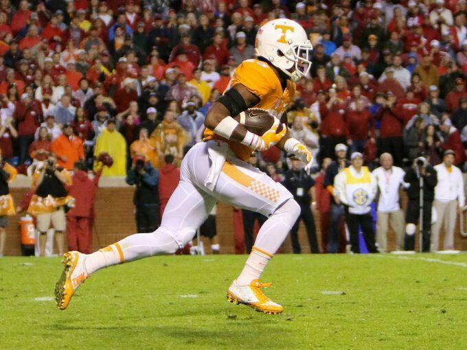 Evan Berry kick return for touchdown.