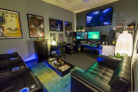 13 Best Epic Video Game Room Decoration Ideas Comfort And Cool Decoratio Co Video Game Room Decor Game Room Design Gaming Room Setup