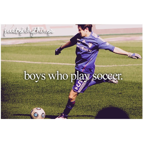 this one guy at my school, who is the hottest guy alive, he is the best soccer player ever .