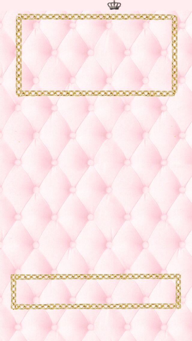 Girly, pink iphone5 lockscreen background