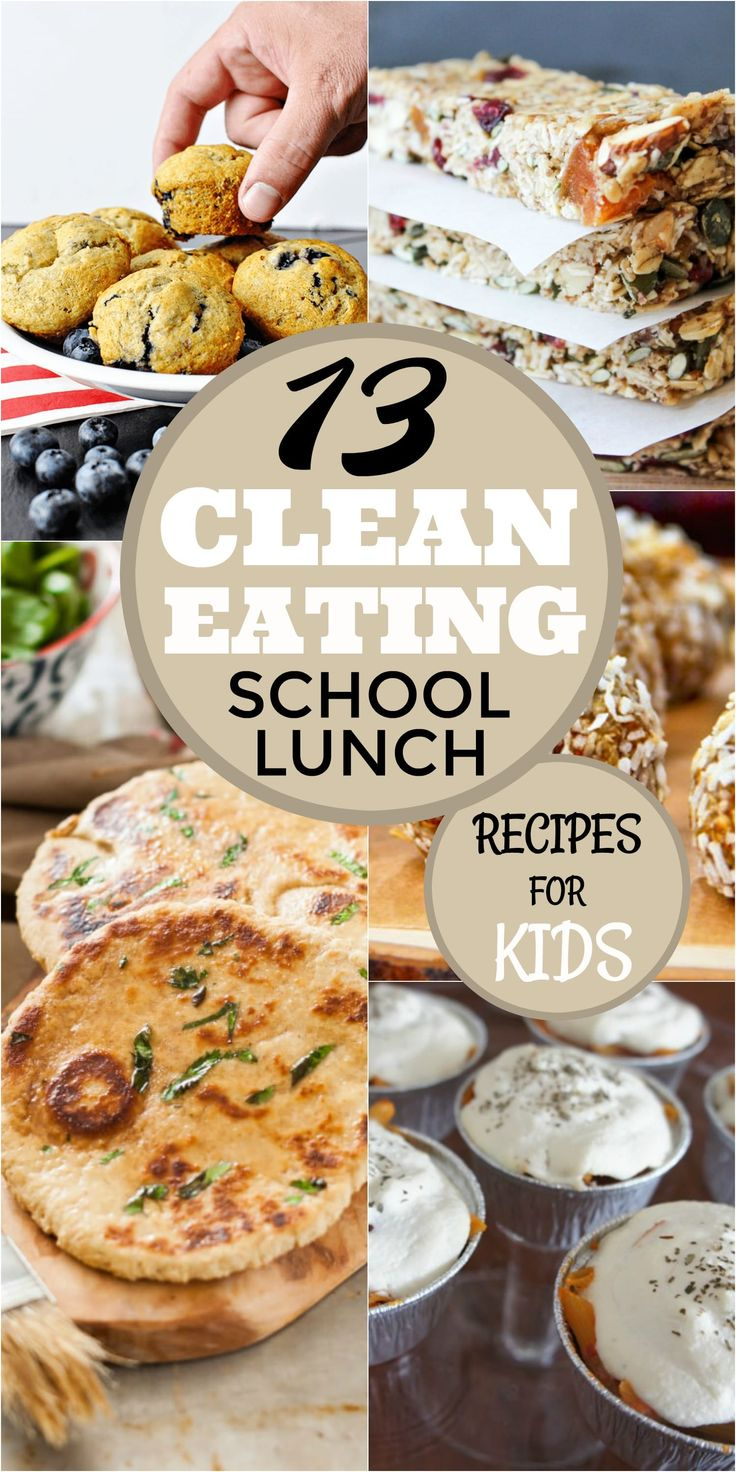 Healthy and tasty school lunch recipes that your kids will actually love! Check out these clean eating school lunch recipes!