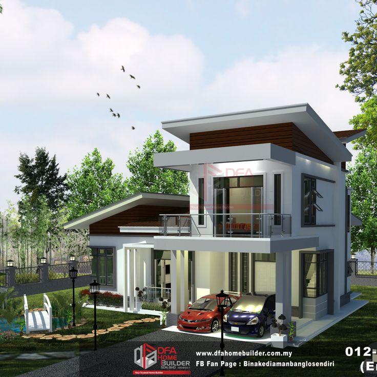 Nak Tengok Pelan Rumah Ini?  *Mengintai Dari Tirai Kamar*  Hubungi 012-938 1232 (En. Faiz) Dengan Segera!  #binakediamanbanglosendiri #bina #kediaman #rumah #impian #kelantan #terengganu #kualiti #banglo
