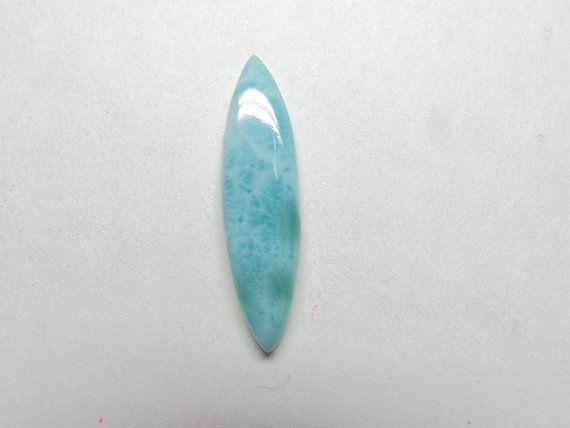 Natural LARIMAR Smooth Marquise Shape Cabochon by StarGemBeads