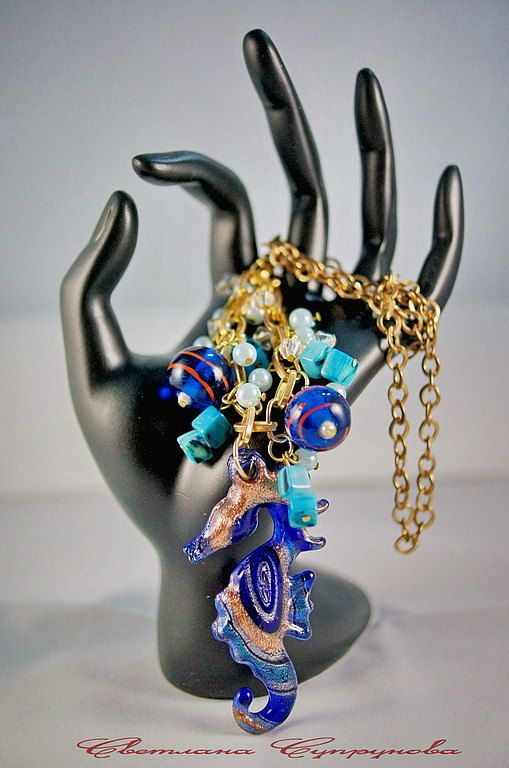 Pendant the DEPTHS of the SEA от PositiveWorlds на Etsy, $50.00