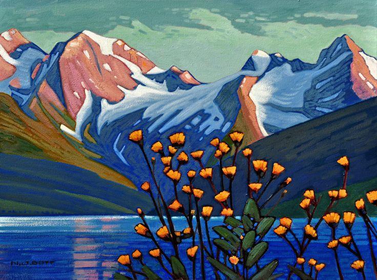 Wild Flowers - Jones Lake, by Nicholas Bott