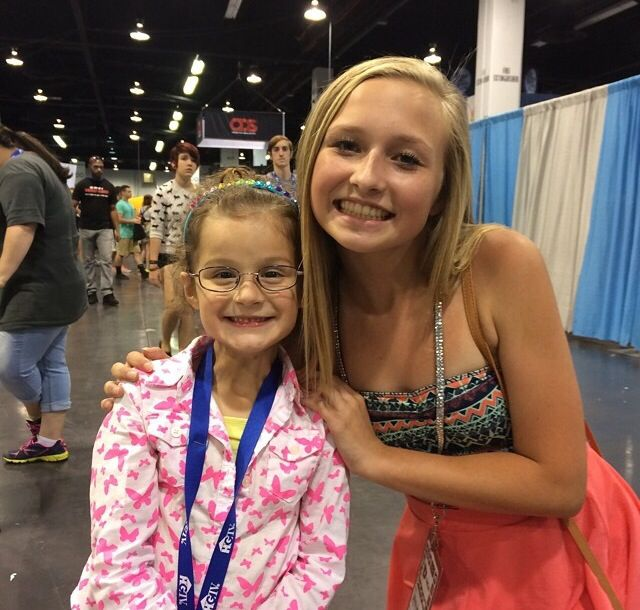 29 best annie leblanc images on pinterest annie grace annie hayley meeting jenna from ssg at vidcon m4hsunfo