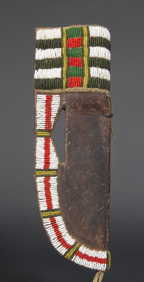 beaded sheath Cheyenne Indians, U.S.A.