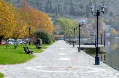 Kastoria Lake Photo by NIKOS T. -- National Geographic Your Shot