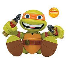 Teenage Mutant Ninja Turtles TalktoMe Mikey Voice Response Turtle Figure