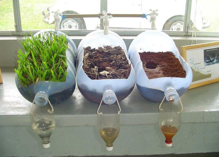 Qualidade da água e preservação de áreas! Quanto mais vegetação há sobre o solo, mais limpa fica a água!