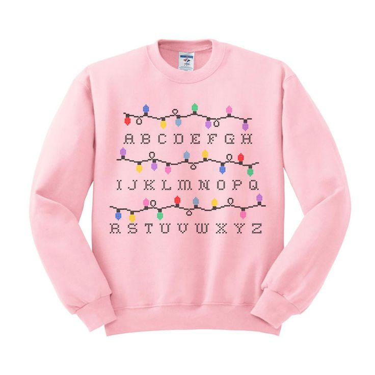 Stranger Things Christmas Lights Crewneck Sweatshirt