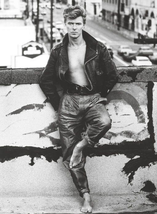 80's men's fashion - david bowie