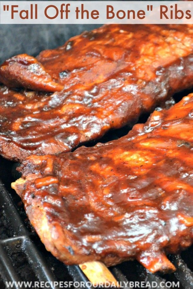 """Fall off the Bone"" Ribs from Recipes for Our Daily Bread and 5 other Grilling Recipes"