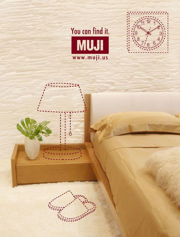 MUJI Magazine Ads on Behance