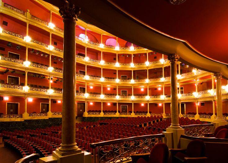 #Teatro Degollado (built in mid 1800's)  Guadalajara, Mexico