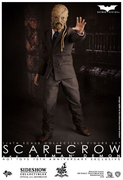 Sideshow Collectibles - Demon Batman and Scarecrow Sixth Scale Figure