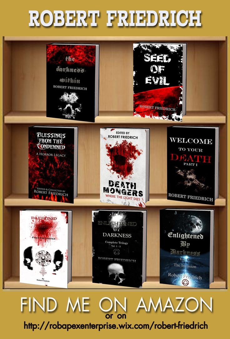 Robert Friedrich - book shelves.